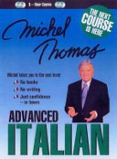 Michel Thomas Advanced Italian