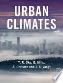 Urban Climates