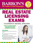 Barron s Real Estate Licensing Exams