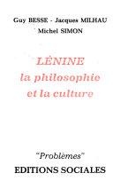 Lénine: la philosophie et la culture