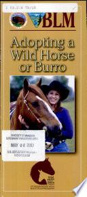Adopting a wild horse or burro