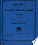 Jahresbericht über die Königliche Gewerbschule in Bamberg