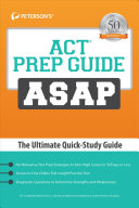 ACT Prep Guide ASAP