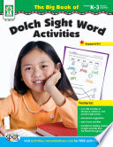 Big Book of Dolch Sight Word Activities  Grades K   3
