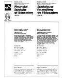 Financial Statistics of Education