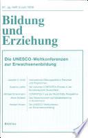 Die Unesco-Weltkonferenzen zur Erwachsenenbildung