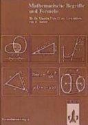 Mathematische Begriffe und Formeln