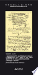 I manoscritti autografi delle commedie del Siglo de Oro scritte in collaborazione