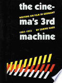 The Cinema s Third Machine