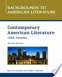 Contemporary American Literature, 1945 - Present 1945 Up To The Present Covering The Political