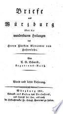 Briefe aus Würzburg ...