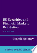 EU Securities and Financial Markets Regulation