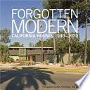 Forgotten Modern