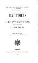 Exposition universelle de 1867 - rapports du jury international