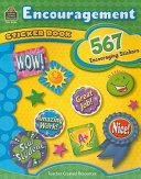 Encouragement Sticker Book