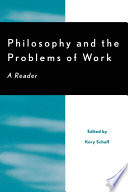 Philosophy and the Problems of Work