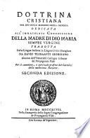 Dottrina cristiana per uso delle missioni della Giorgia tradotta dall italiano in lingua civile giorgiana  2  edizione