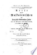 """""""Bory's de St. Vincent ..."""" Reise nach den Maskarenischen oder Französisch Afrikanischen Inseln Ile de France und Bourbon, in den Jahren 1801 und 1802"""
