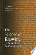 Science of Knowing  The