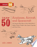 Draw 50 Airplanes  Aircraft  and Spacecraft