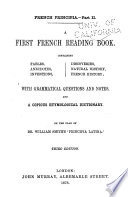 A First French Reading Book