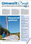 Zeitschrift UmweltBriefe Heft 15-16/2015