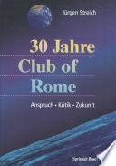 30 Jahre Club of Rome