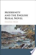 Modernity and the English Rural Novel
