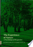 illustration du livre The Experience of Nature