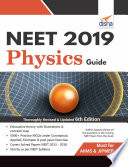 Neet 2019 Physics Guide 6th Edition