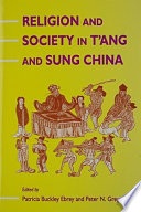 Religion And Society In T Ang And Sung China