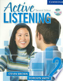Active Listening 2 Student s Book with Self study Audio CD