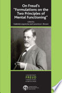 On Freud s   Formulations on the Two Principles of Mental Functioning