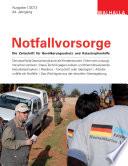 Zeitschrift Notfallvorsorge Heft 01/2013