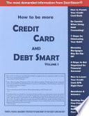 How to be More Credit Card and Debt Smart