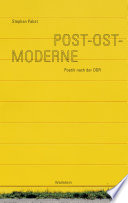 Post-Ost-Moderne