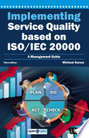 Implementing Service Quality Based On Iso Iec 20000