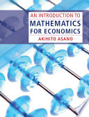 An Introduction to Mathematics for Economics