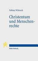 Christentum und Menschenrechte