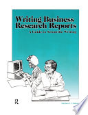 Writing Business Research Reports