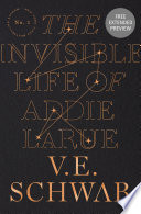 Book The Invisible Life of Addie LaRue Sneak Peek
