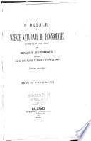 Giornale di scienze naturali ed economiche