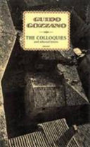 Guido Gozzano   Colloquies and Selected Letters