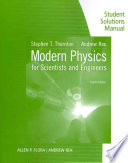 Student Solutions Manual for Thornton   Rex s Modern Physics