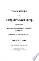 Flock Record of Hampshire Sheep Book PDF