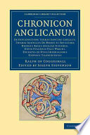 Chronicon Anglicanum