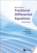 Basic Theory of Fractional Differential Equations