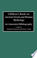 Children s Books on Ancient Greek and Roman Mythology