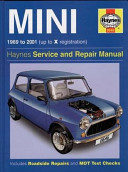 Haynes Mini 1969 to 2001 Up to X Registration