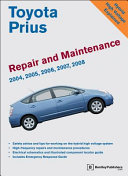 Toyota Prius Repair and Maintenance Manual  2004 2008